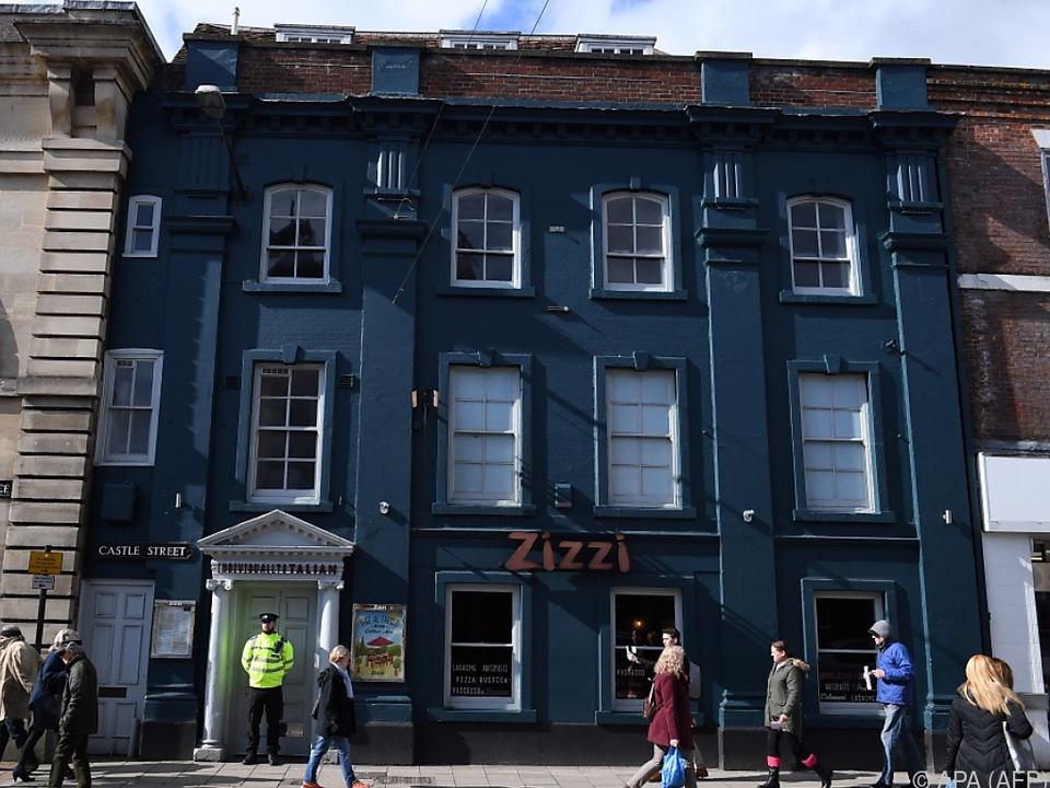 Der Angriff ereignete sich in Salisbury