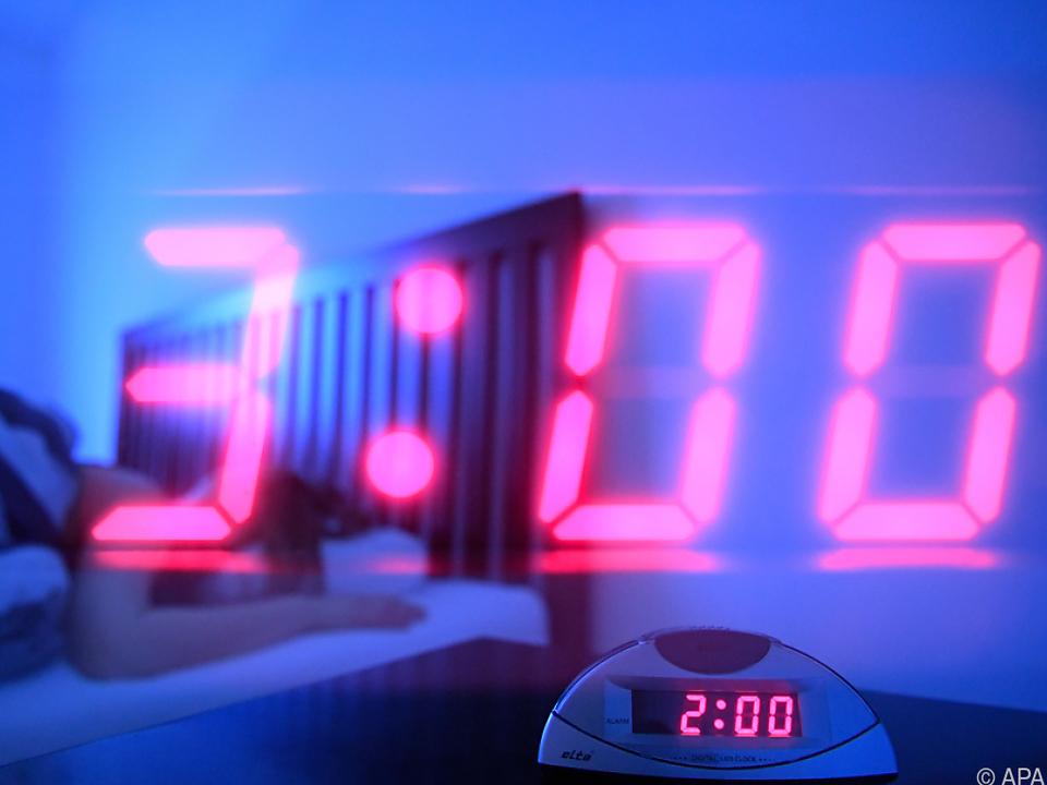 Der Zeitensprung erfolgt um 2:00 Uhr nachts