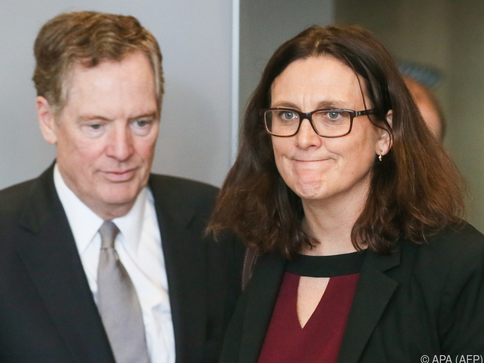 Die beiden Handelsbeauftragten sind in intensiven Verhandlungen