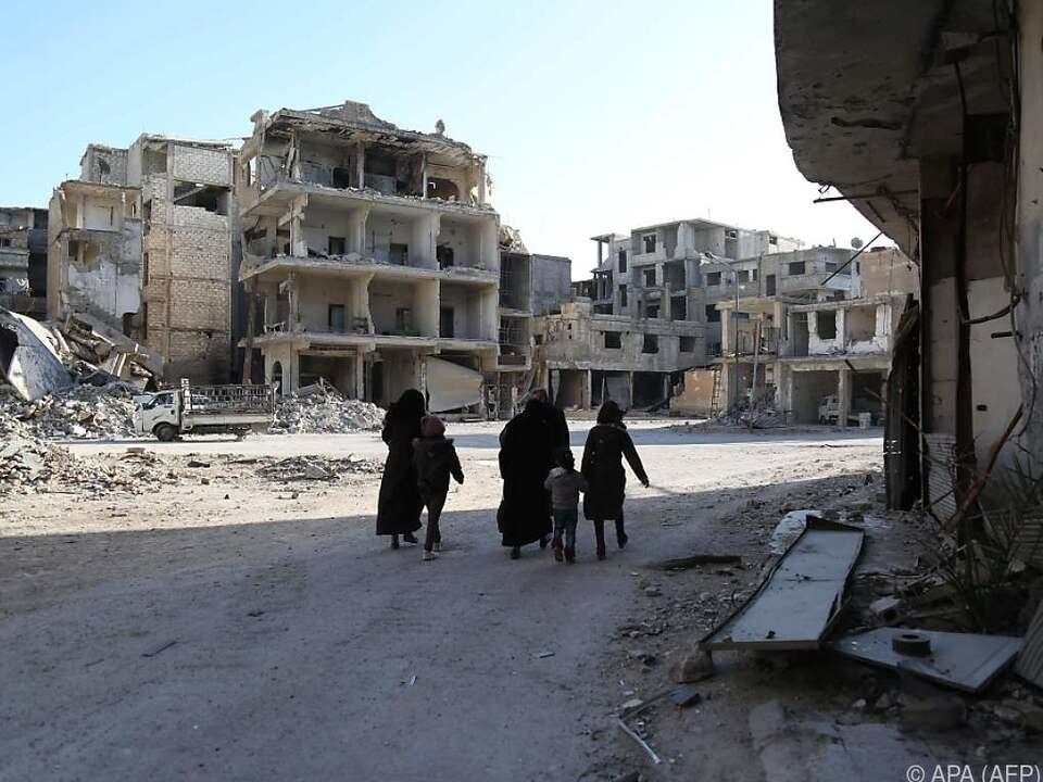 Die Evakuierung von Zivilisten soll beginnen
