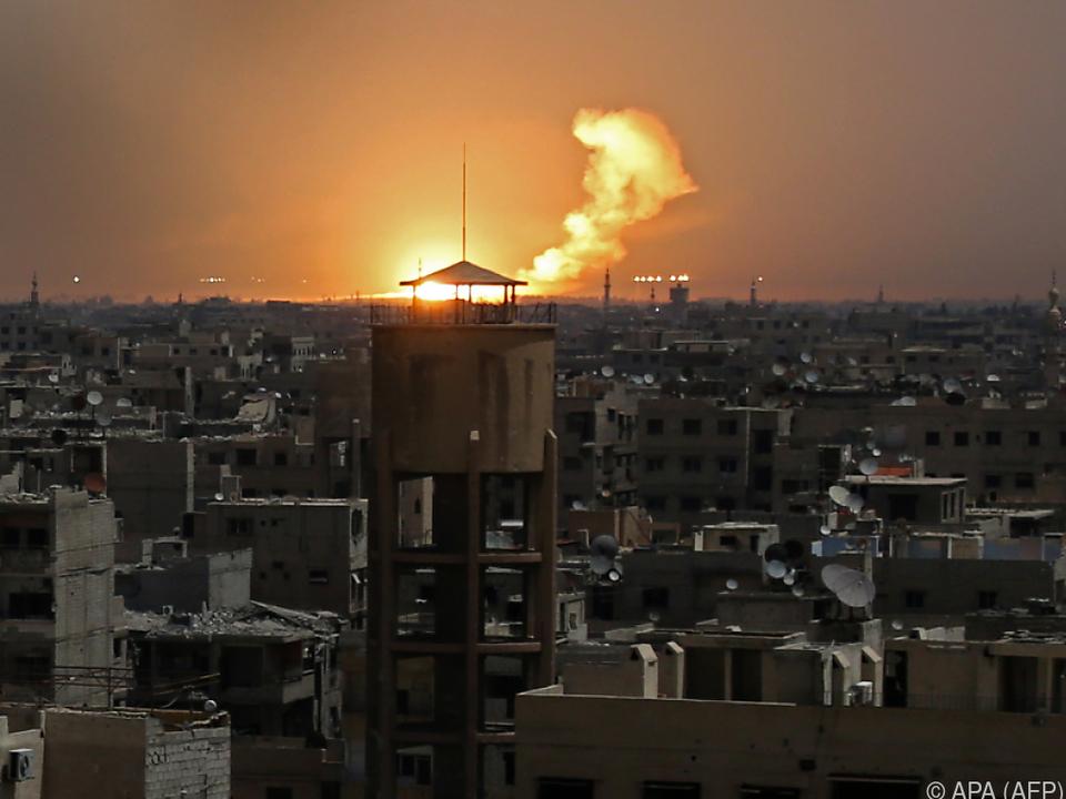 Die Feuerpausen bringen Ost-Ghouta nur vorübergehend Ruhe