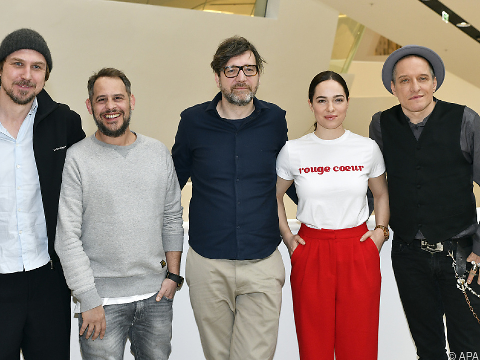 Die Hauptdarsteller und ihr Autor bzw. Regisseur