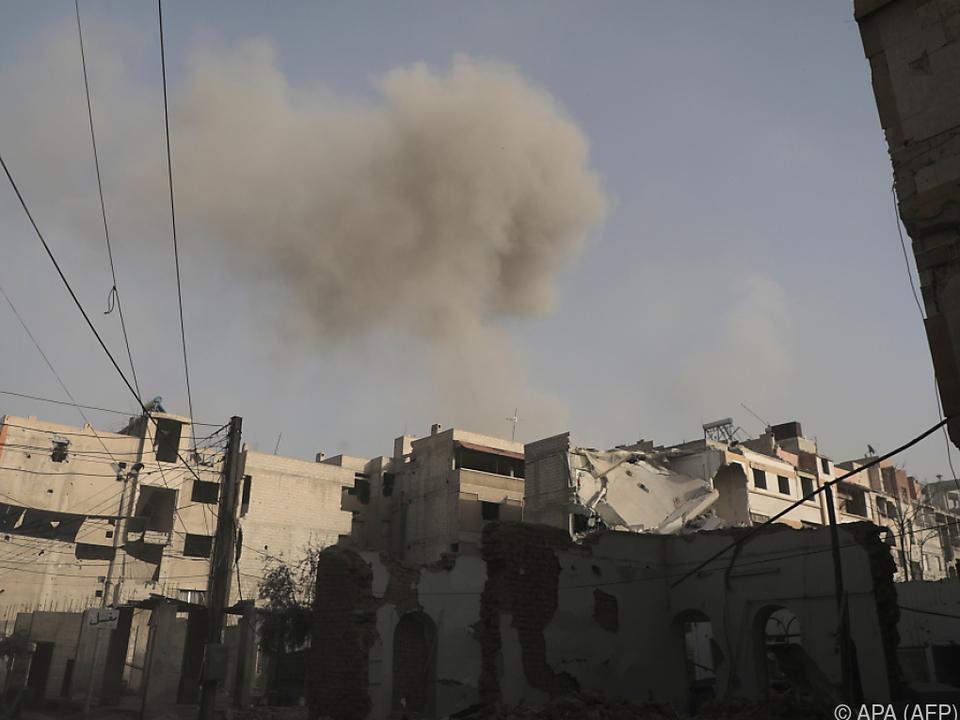 Die humanitäre Lage in der Region ist katastrophal