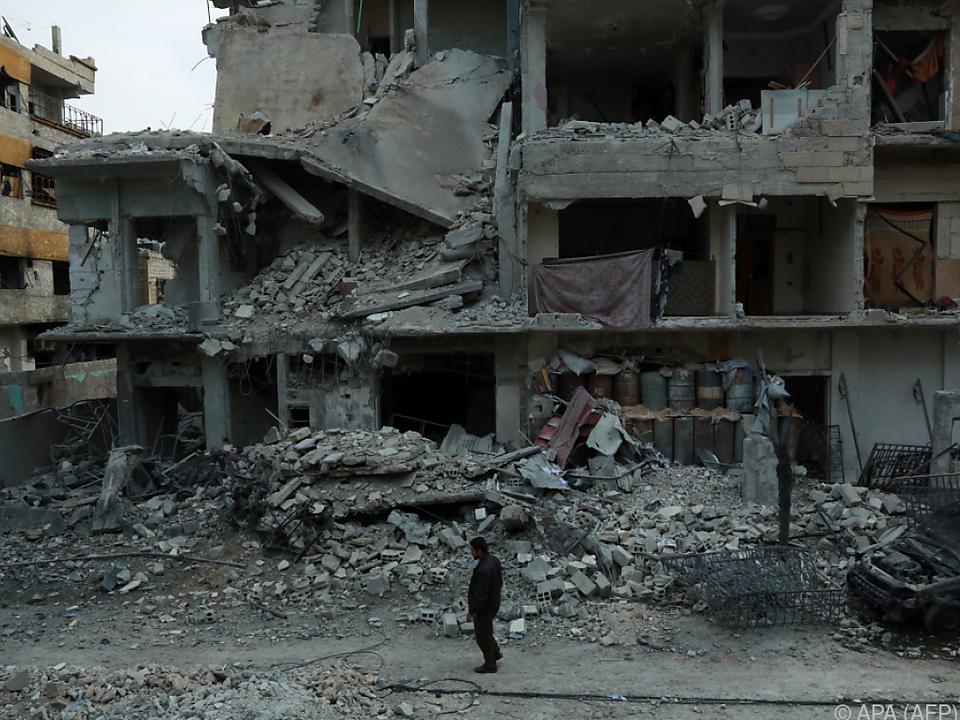 Die Lage in Ost-Ghouta spitzt sich zu
