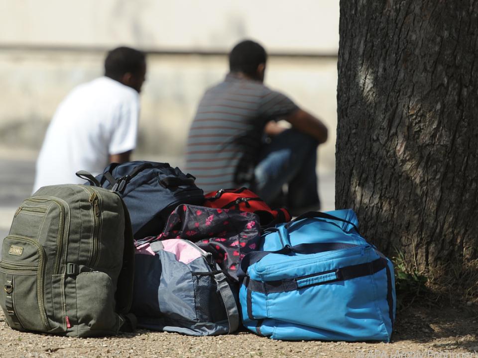 Die meisten Anträge kamen von personen aus Syrien flüchtling menschenhandel armut