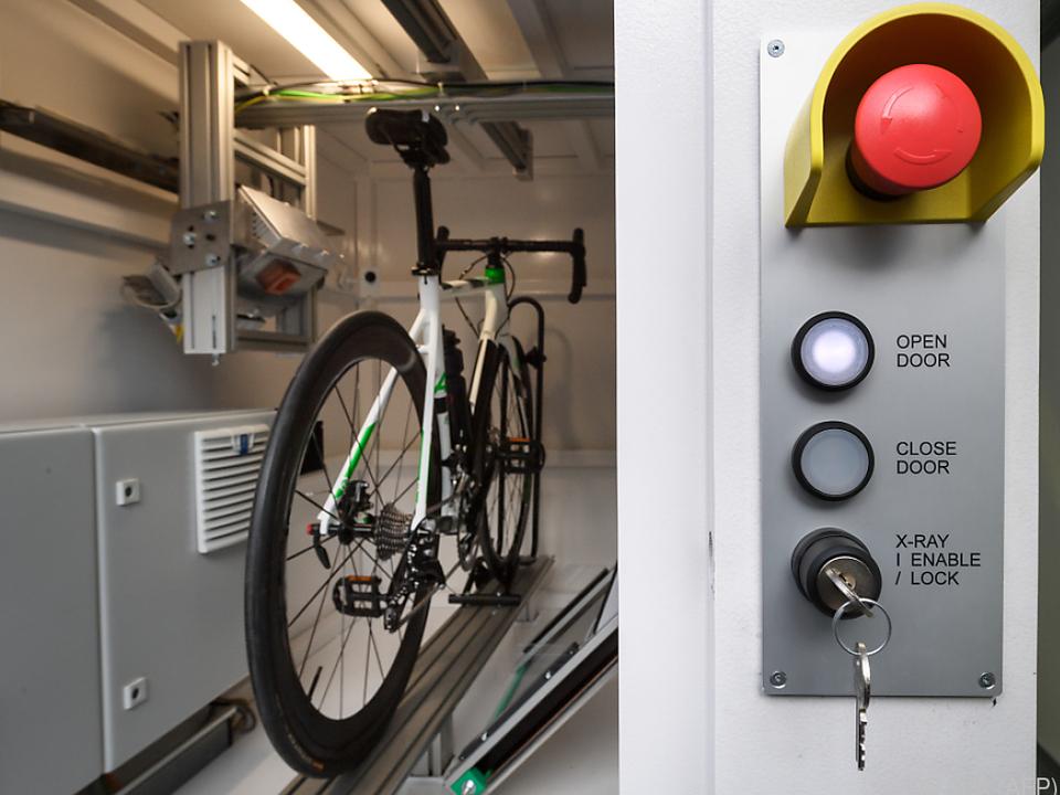 Die Räder sollen in eigenen Bussen überprüft werden
