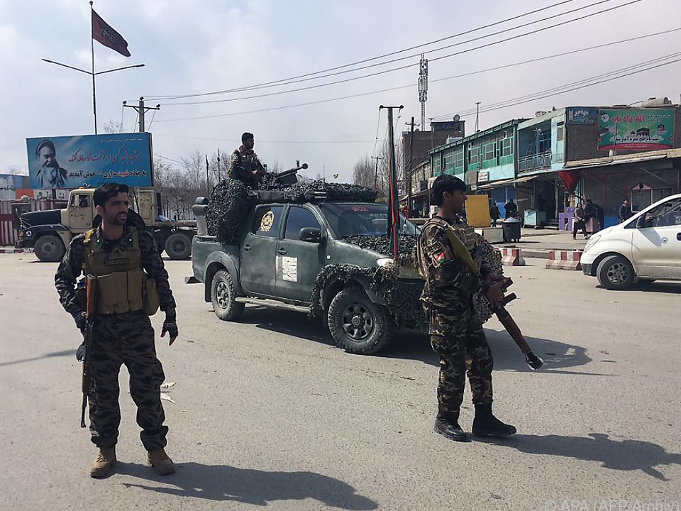 Die Sicherheitslage in Afghanistan ist äußerst angespannt
