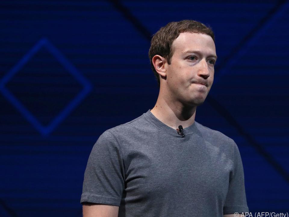 Druck auf Zuckerberg wächst