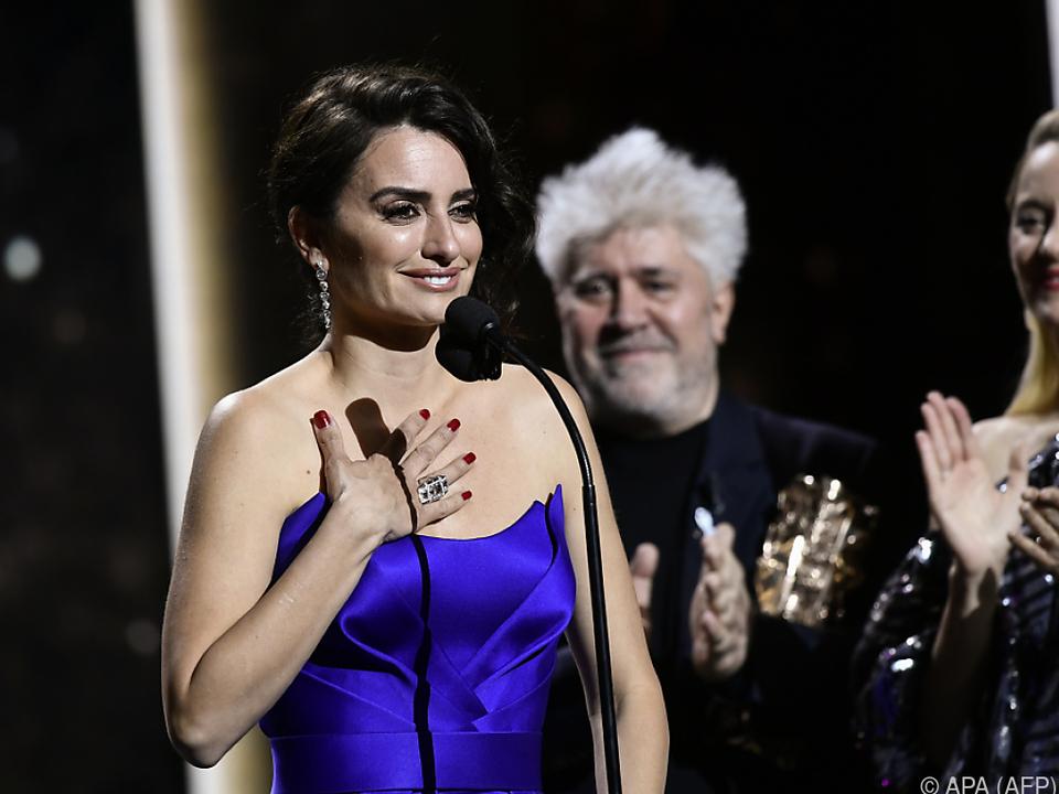 Ehren-Cesar an die Spanierin Penelope Cruz
