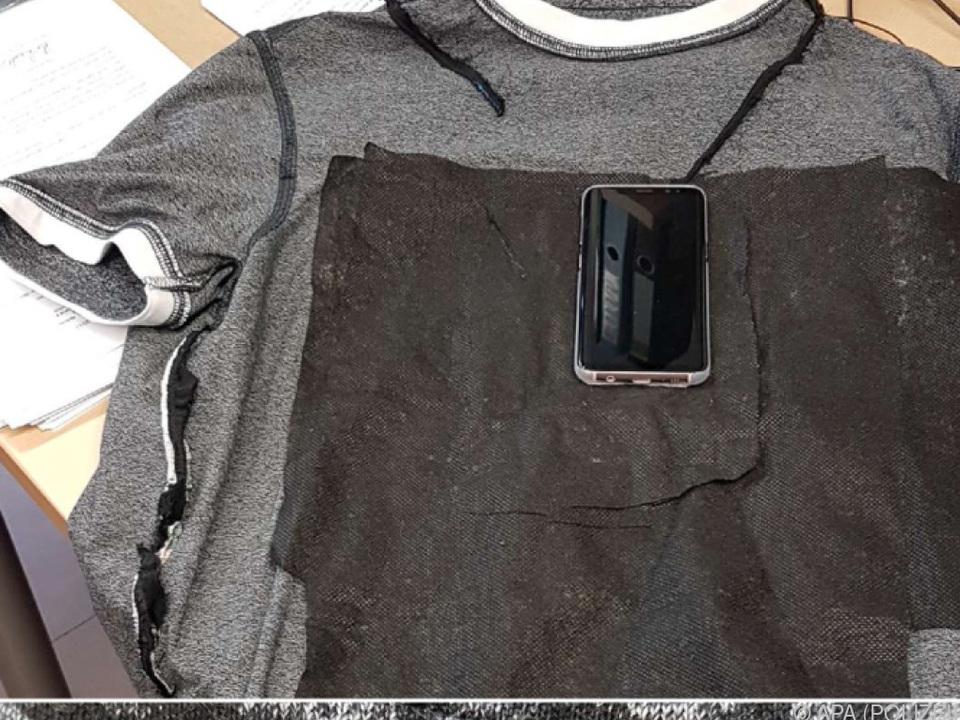 Ein zum Schummeln präpariertes Kleidungsstück