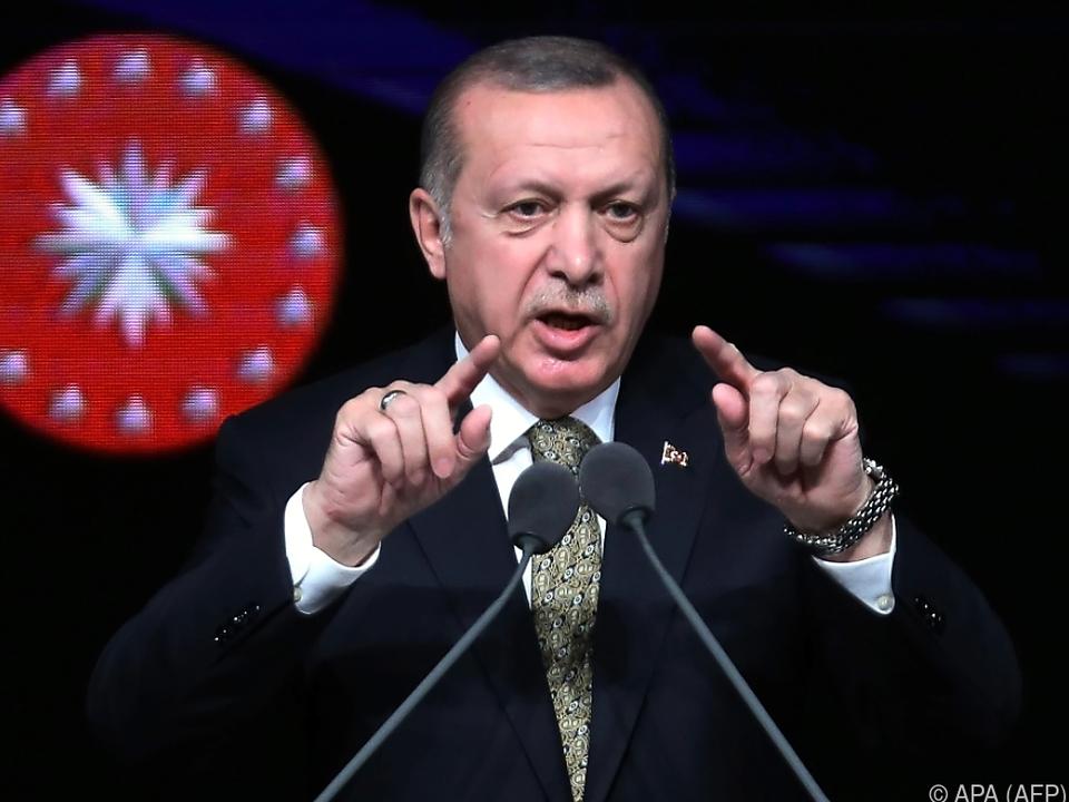 Erdogan deutet bereits das nächste Angriffsziel an
