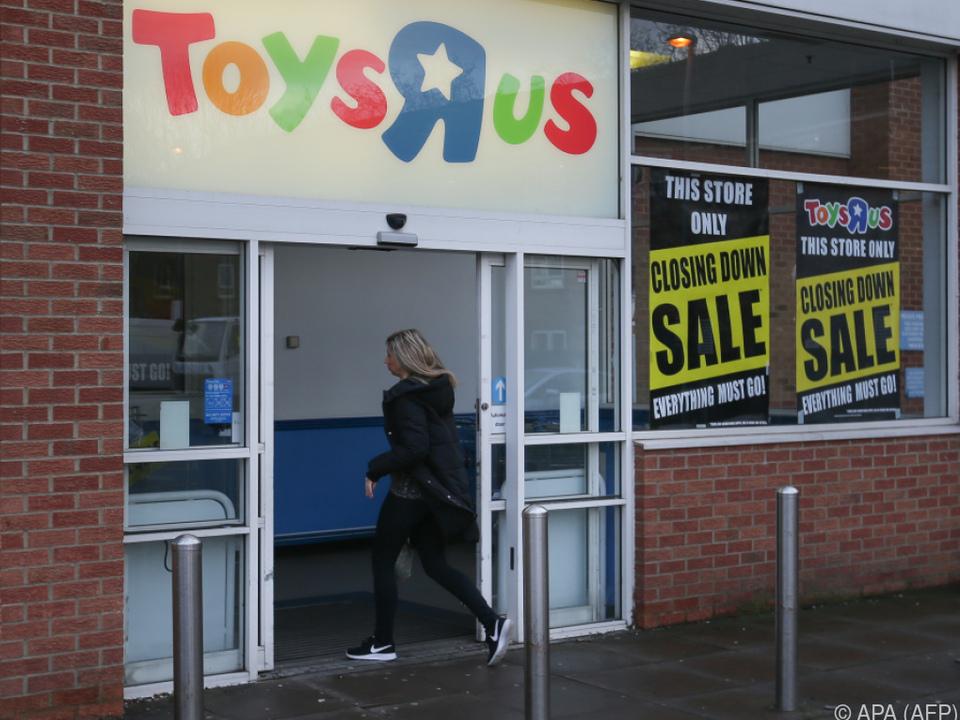 Es hat sich ausgespielt für den US-Spielzeughändler