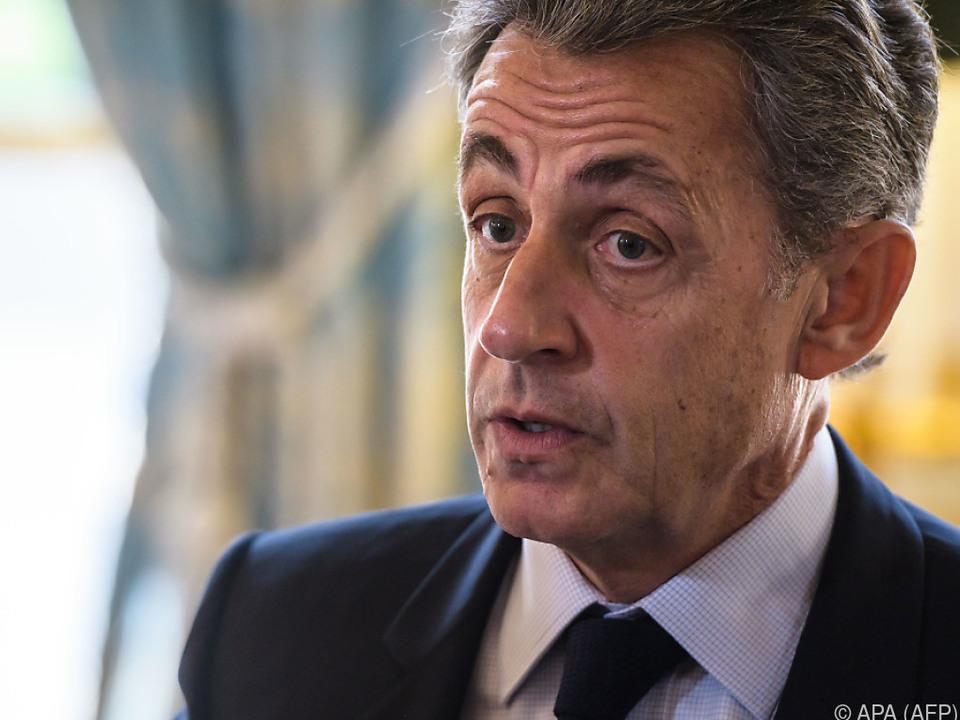 Ex-Präsident Nicolas Sarkozy
