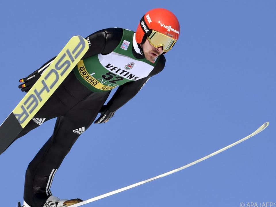 Fabian Rießle (GER) holte sich den Sieg