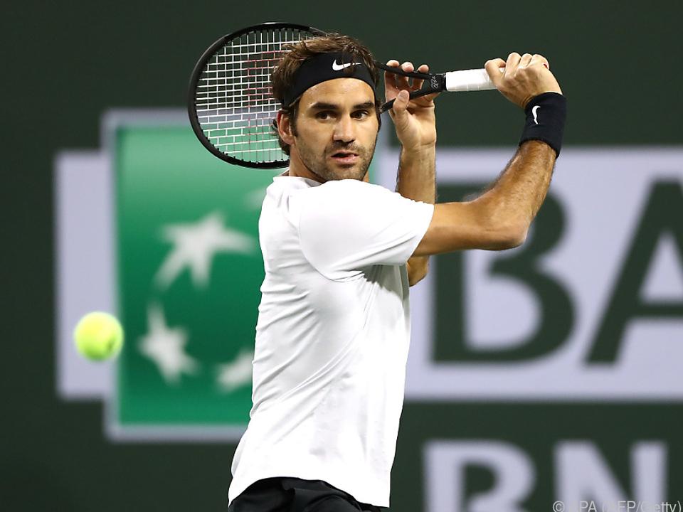Federer steht damit 2018 bei einer Bilanz von 16:0 Siegen