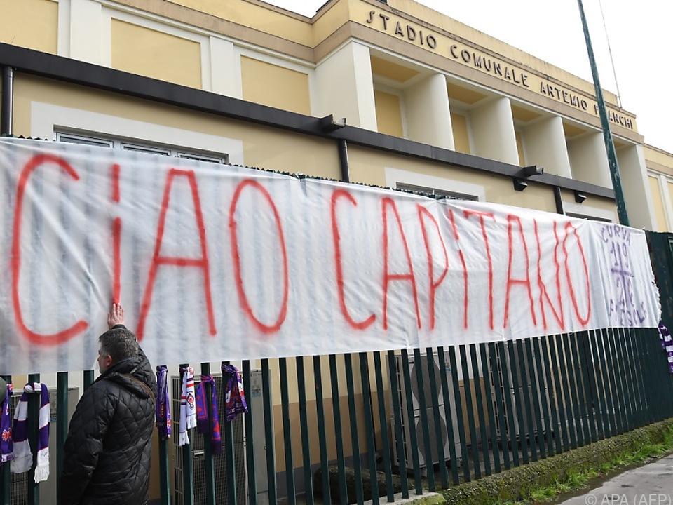 Fiorentinas Kapitän Davide Astori wurde nur 31 Jahre alt