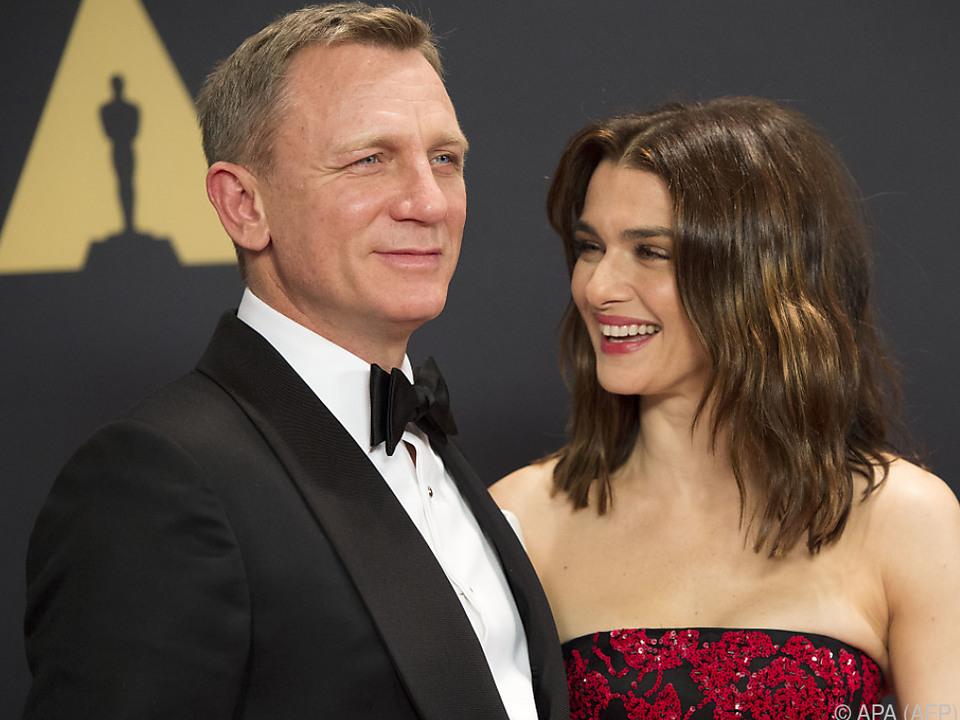 Daniel Craig mit Ehefrau Rachel Weisz
