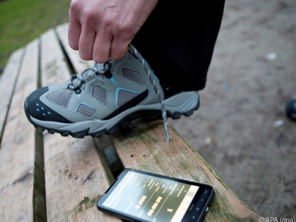 Fitness-Apps sind beliebt - da lassen sich auch viele Daten anzapfen