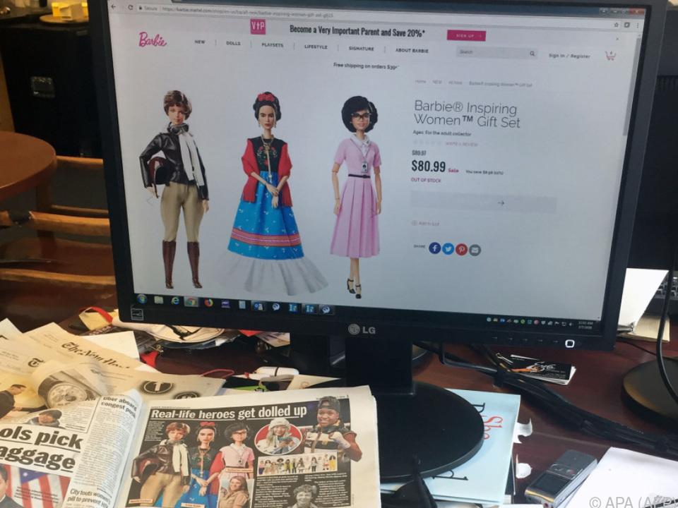 Frida-Kahlo-Puppe als Teil von Serie \