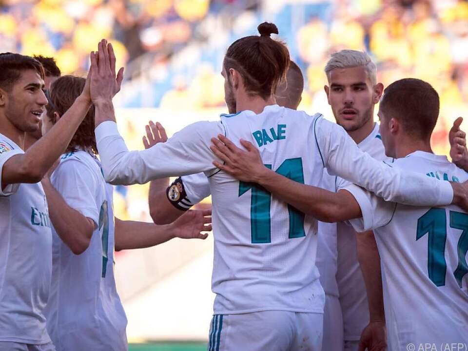 Gareth Bale mit einem Doppelpack für Real Madrid