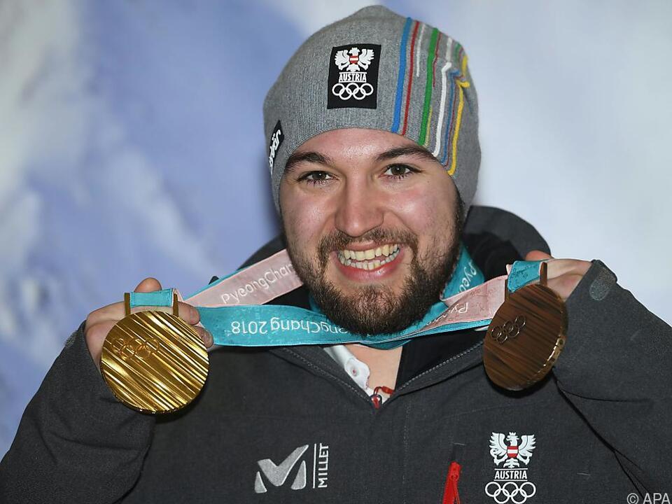 Gleich zwei Olympia-Medaillen sammelte Gleirscher ein