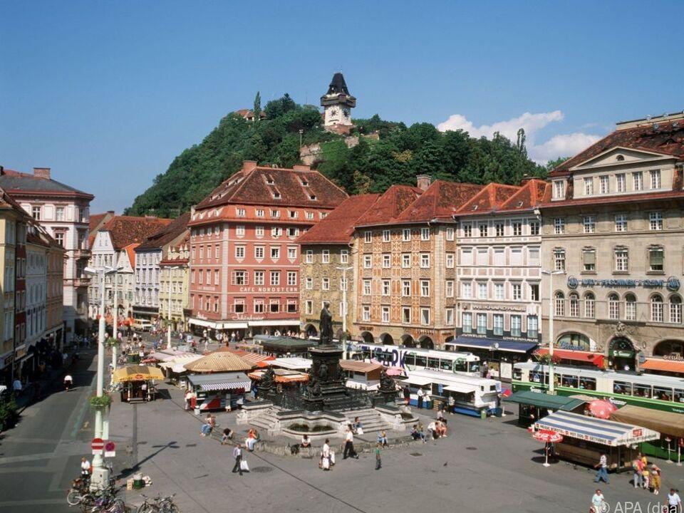 Graz vor Wien auf Rang eins