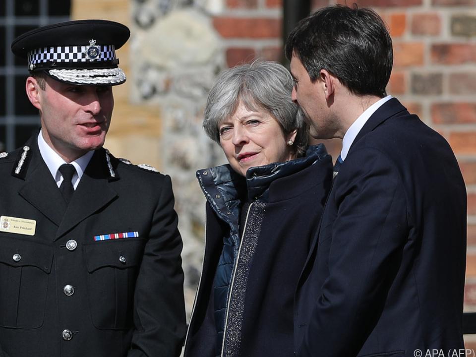 Großbritannien lässt 23 russische Diplomaten ausweisen