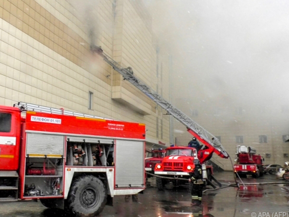 Großeinsatz der Rettungskräfte