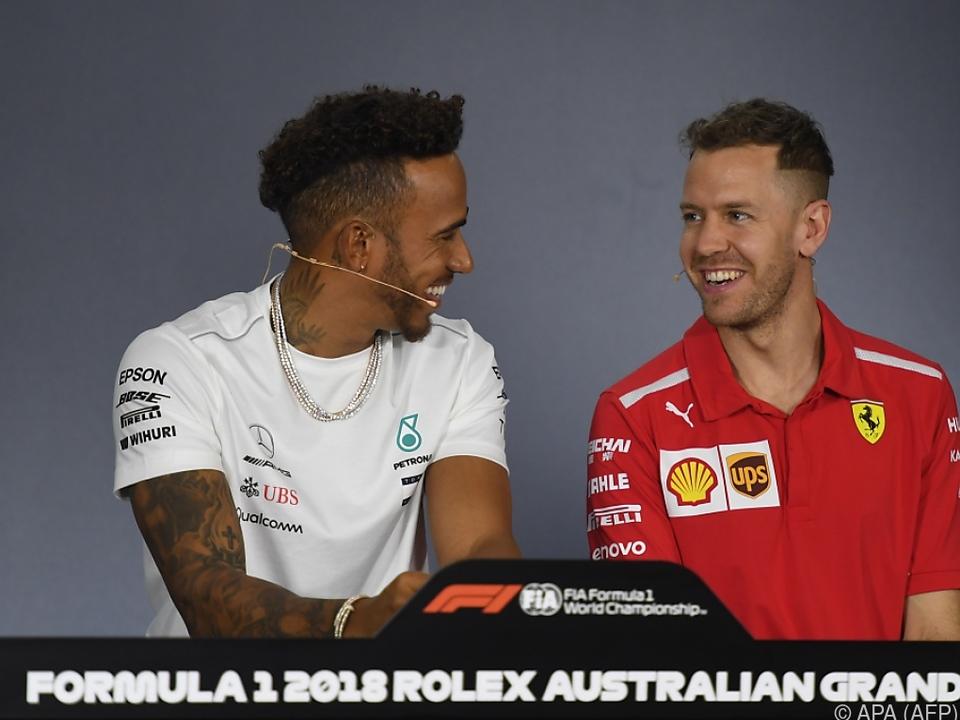 Hamilton und Vettel stehen im Mittelpunkt