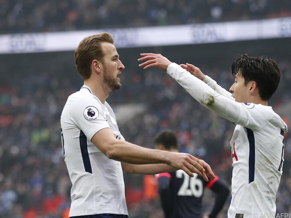 Harry Kane und Son Heung-min sollen für die nötigen Tore sorgen
