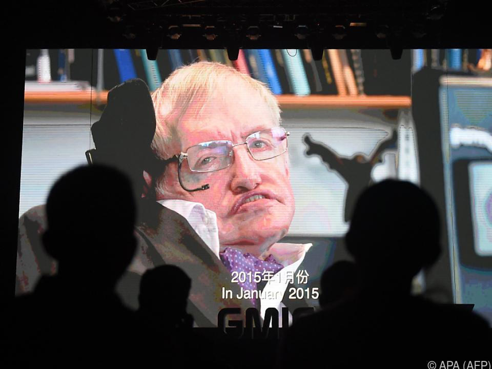 Hawking litt an der unheilbaren Muskel- und Nervenkrankheit ALS