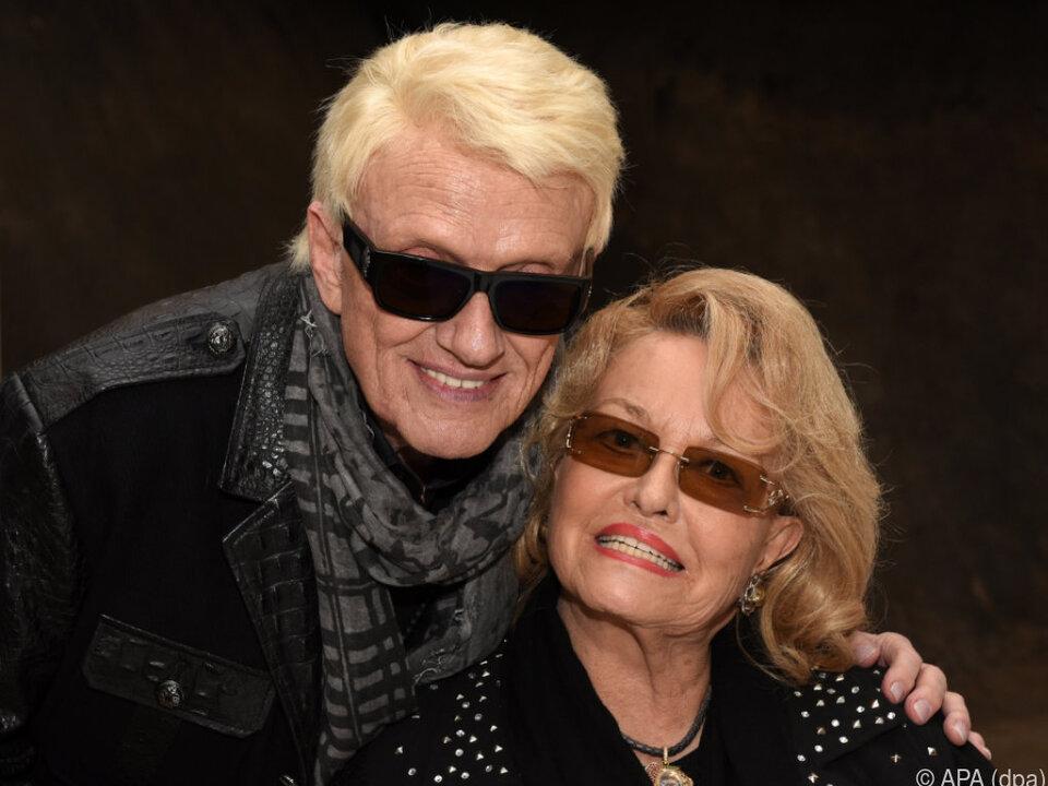 Heino mit seiner Frau Hannelore