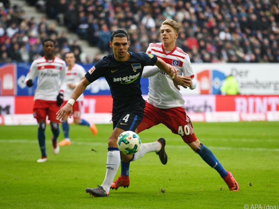 Hertha BSC gönnte dem HSV keine Punkte