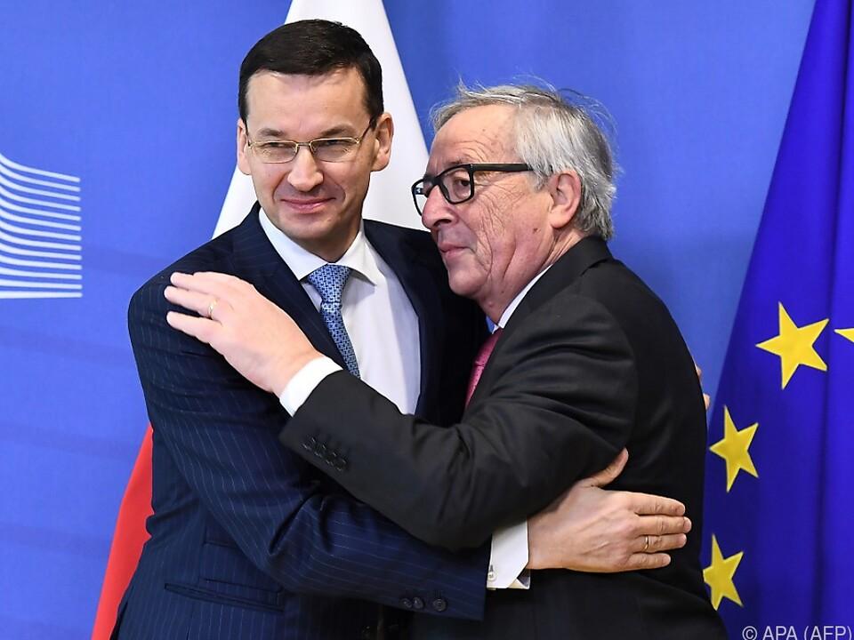 Herzlicher Empfang in Brüssel
