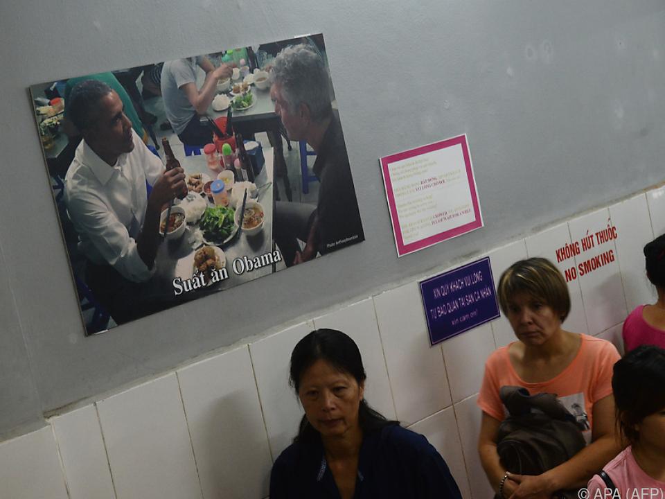 Hype um Barack Obama hält in Vietnam an