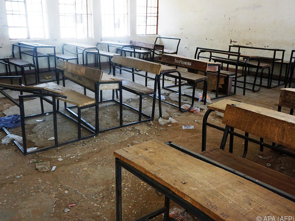 Im Februar entführte Boko Haram die Schülerinnen