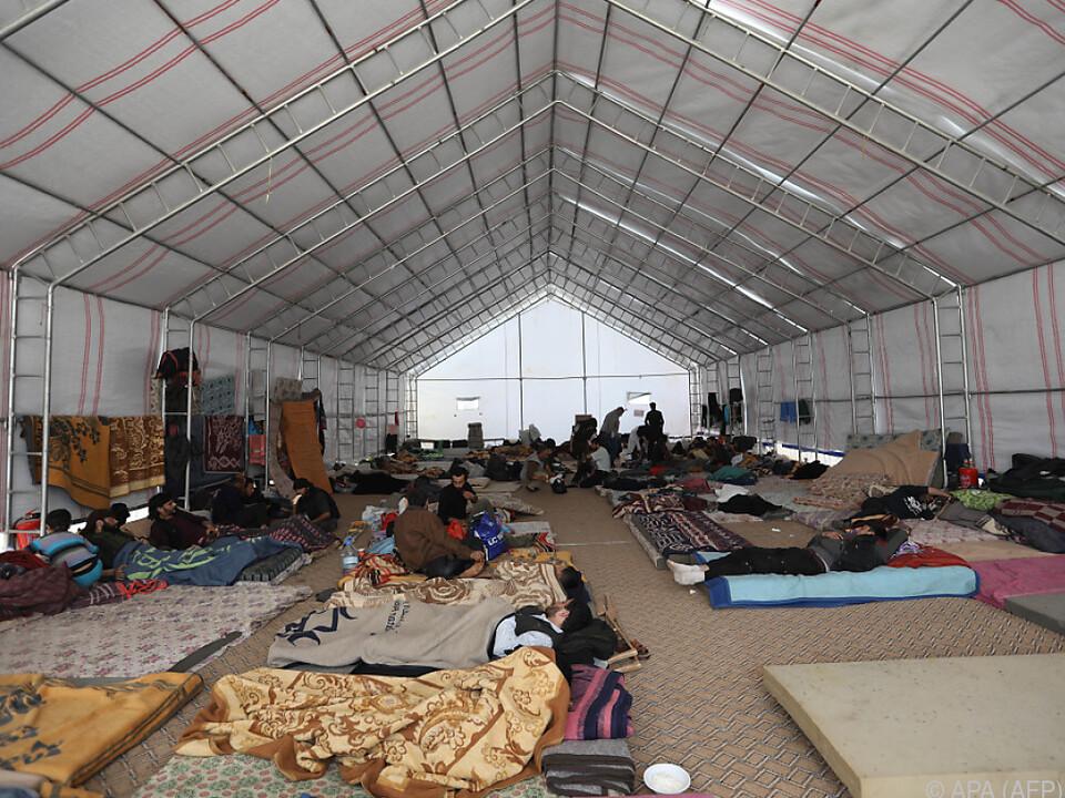 Immer mehr Zivilisten verlassen die Region