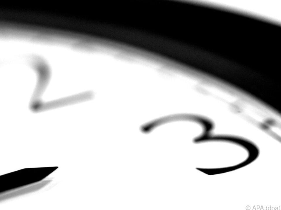 In der Nacht sprangen die Uhren von 2.00 Uhr auf 3.00 Uhr