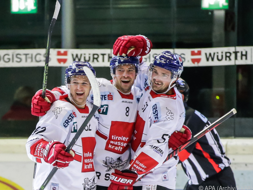 Innsbrucker siegten und Wien und halten die Serie gegen die Caps offen