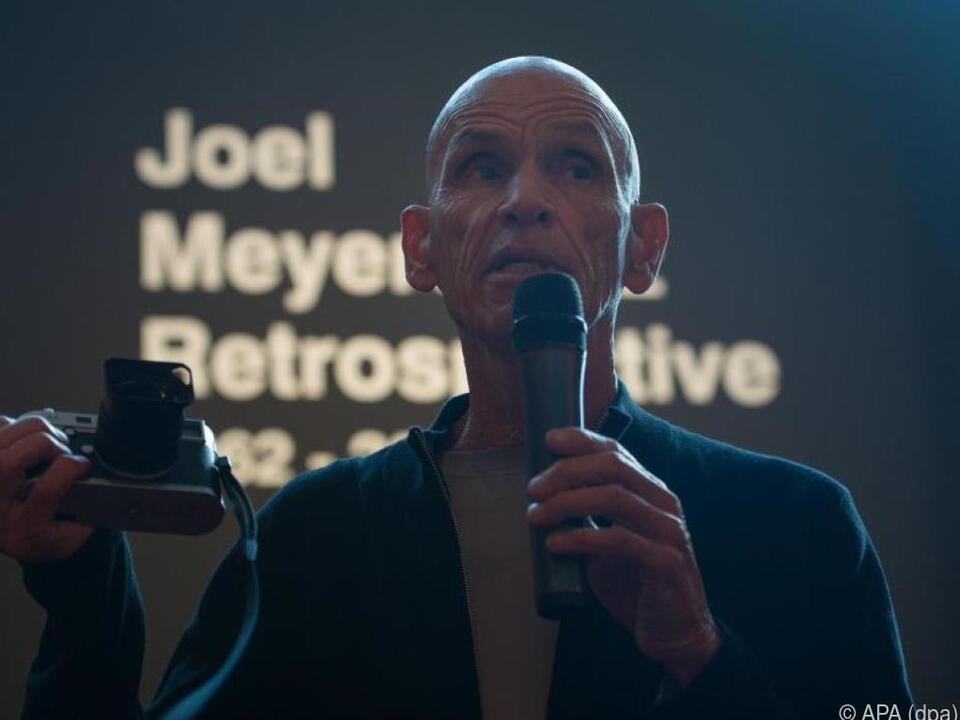Joel Meyerowitz fotografiert noch immer