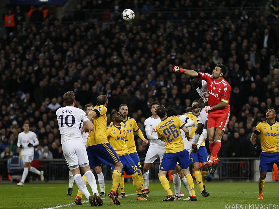 Juve schlug Tottenham 2:1