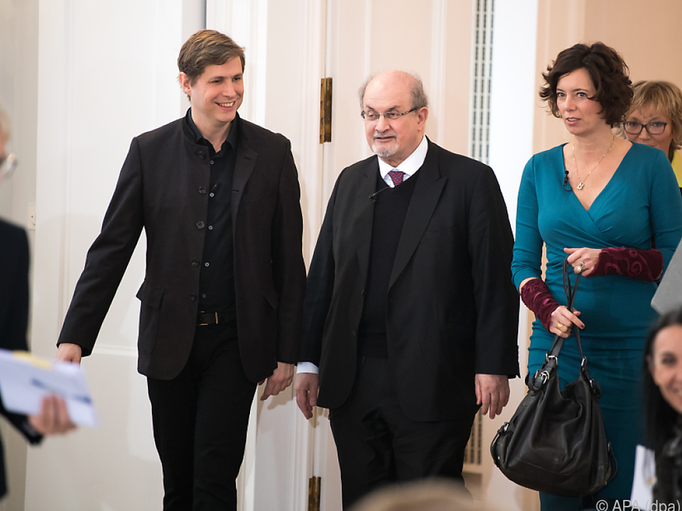 Kehlmann, Rushdie und Eva Menasse in Berlin
