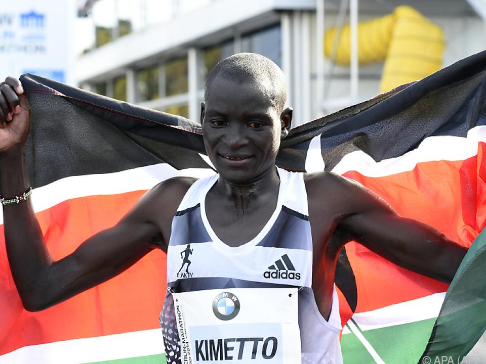 Kimetto hält mit 2:02:57 Stunden die Weltbestmarke