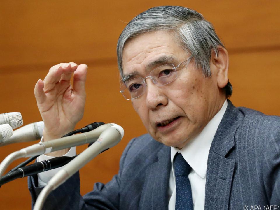 Kuroda glaubt nicht an Protektionismus-Ausbreitung