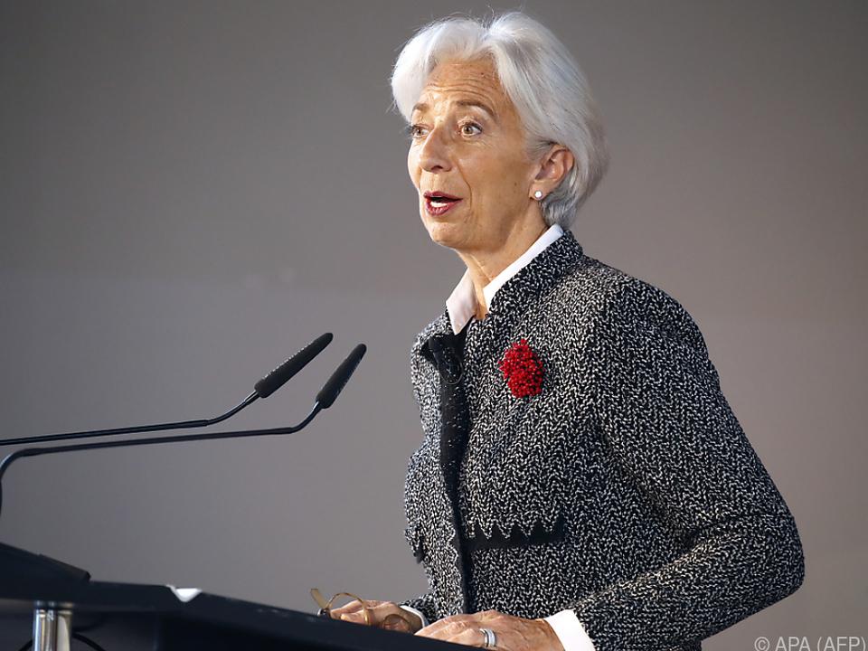 Lagarde will EU-weite Rücklagen für Krisen anleiern