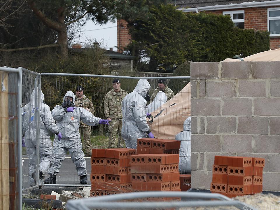 Laut Großbritannien steht Russland hinter Giftanschlag von Salisbury