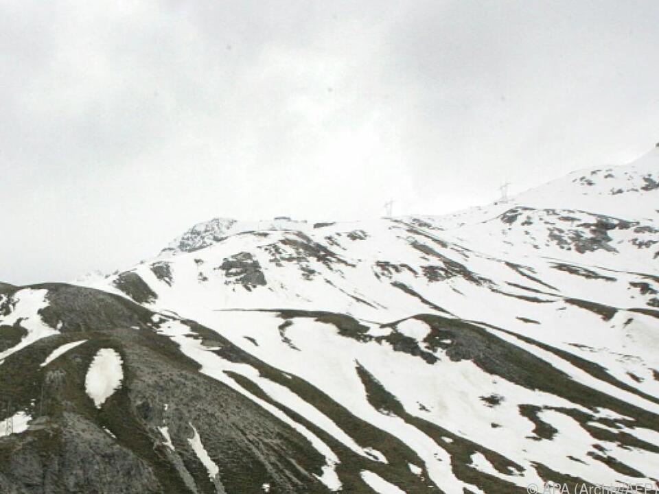 Lawinenunfall in den lombardischen Alpen bei Livigno