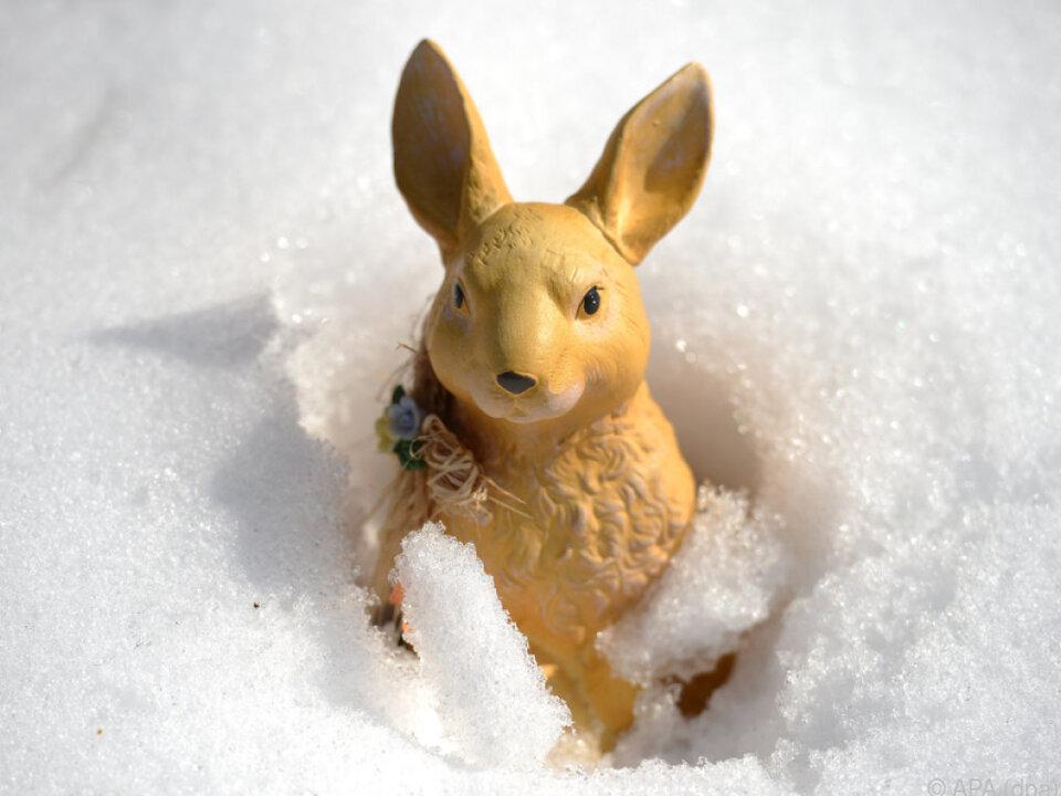 Man fürchtet kühle Ostern im Land