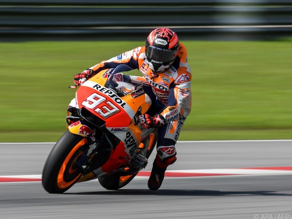 Marc Marquez ist der Gejagte in der MotoGP