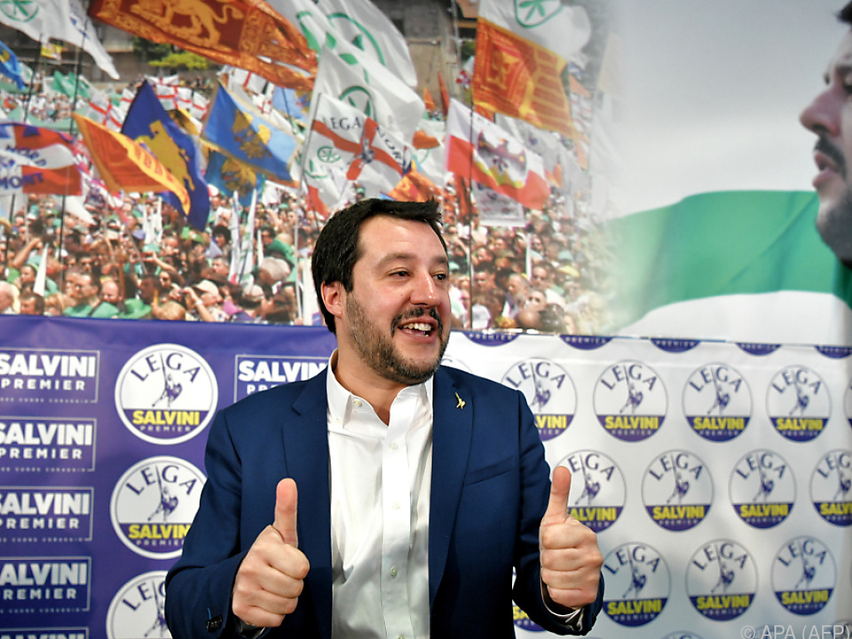 Matteo Salvini will regieren